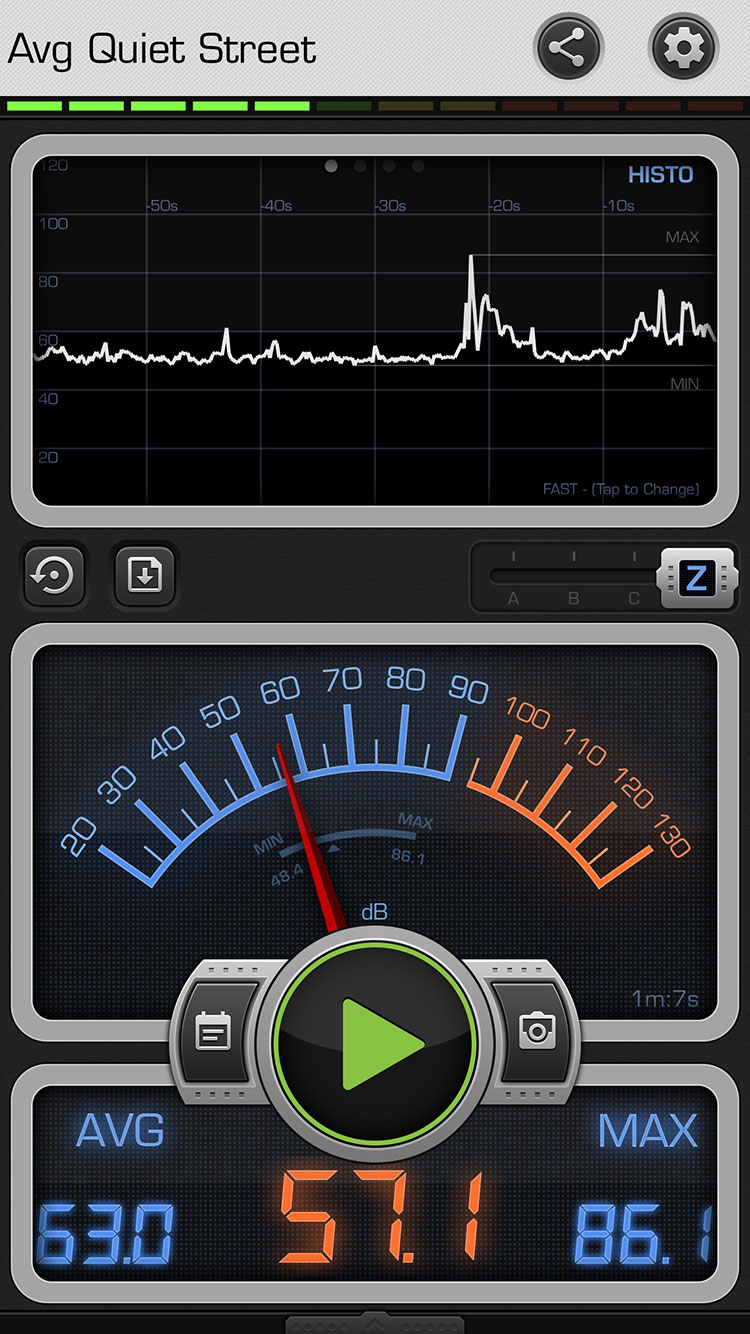 accuracy of sound meter apps